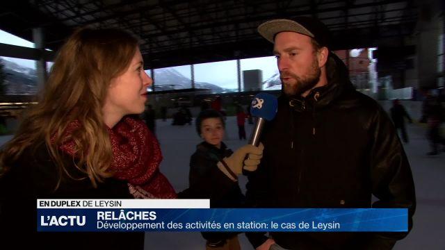 Disco sur glace à Leysin !