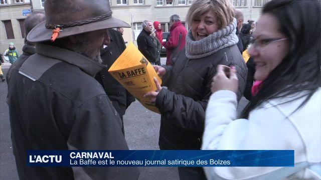 La Baffe est le nouveau journal satirique des Bolzes