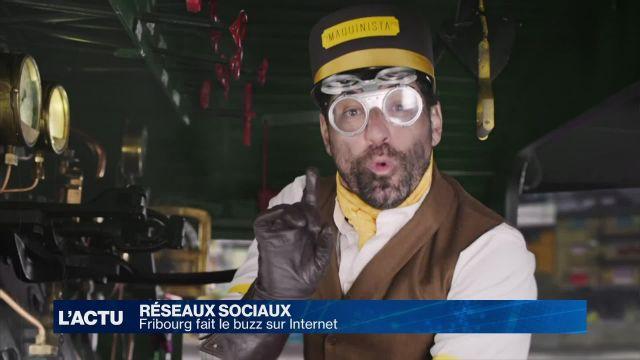 Fribourg fait le buzz sur les réseaux sociaux