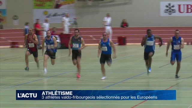 Athlétisme : 14 athlètes sélectionnés pour les Européens