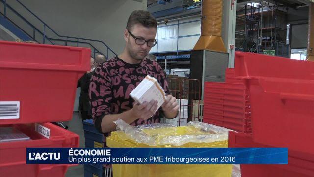 Un plus grand soutien aux PME fribourgeoises en 2016