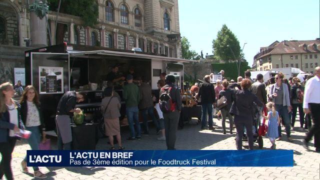 Pas de 3ème édition pour le Foodtruck Festival