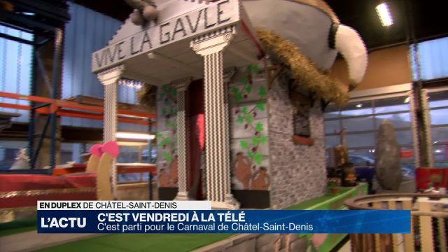 C'est Vendredi à La Télé au Carnaval de Châtel-St-Denis