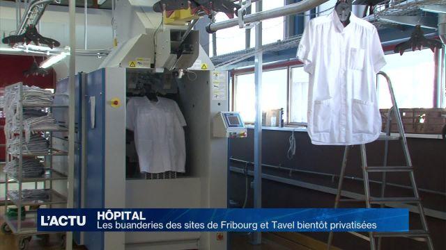 Le HFR veut privatiser ses buanderies de Fribourg et Tavel