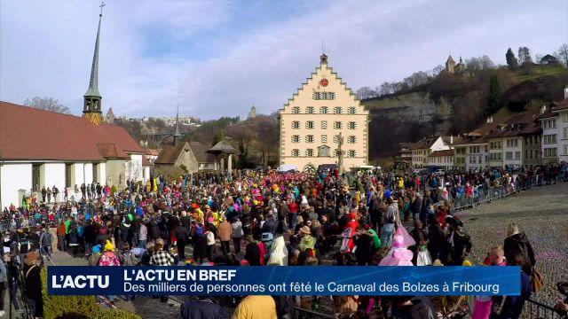Bilan positif pour le Carnaval des Bolzes à Fribourg