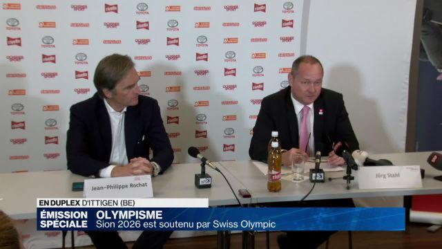 Sion 2026 validé par Swiss Olympic