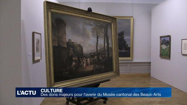Des dons de valeur pour le Musée des beaux-arts