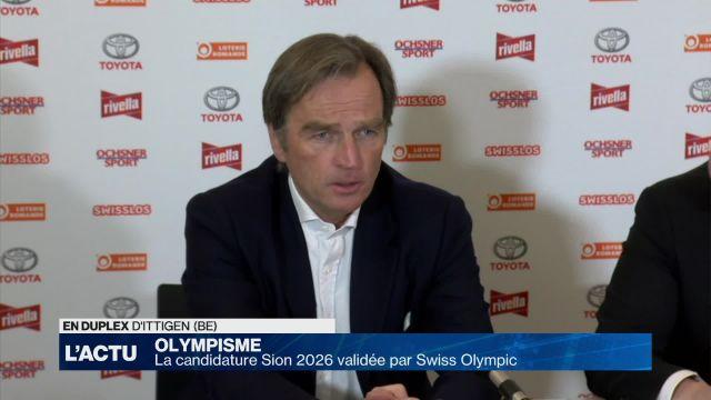 La candidature Sion 2026 validée par Swiss Olympic
