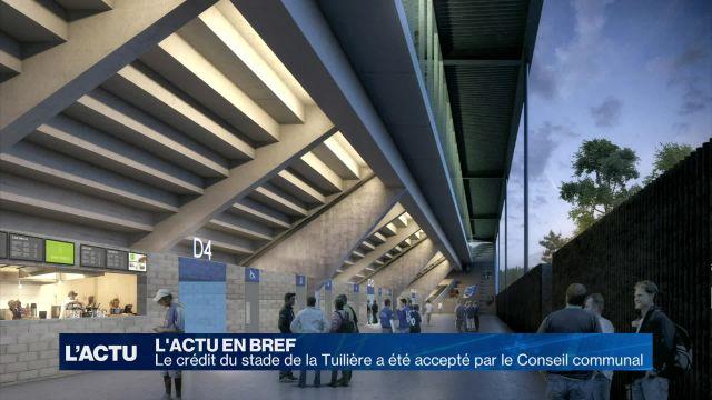Le crédit du stade de la Tuilière a été accepté par la ville
