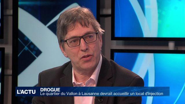 Lausanne devrait accueillir un local d'injection