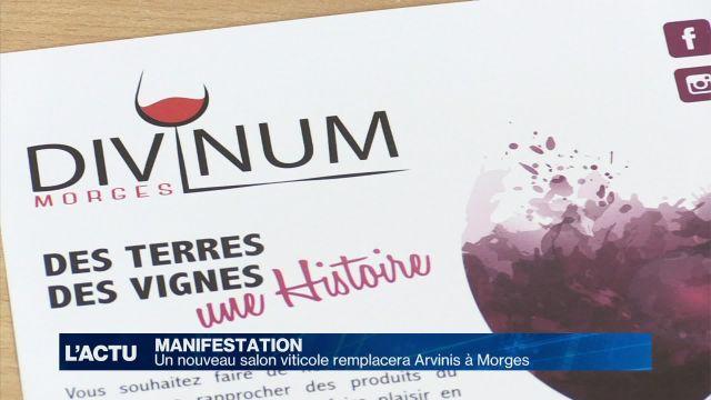 Morges accueille un nouveau salon viticole