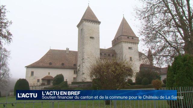 Soutien financier pour le Château de La Sarraz