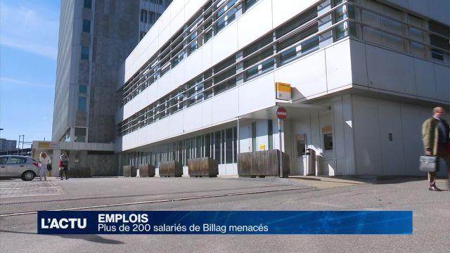 Plus de 200 salariés de Billag menacés