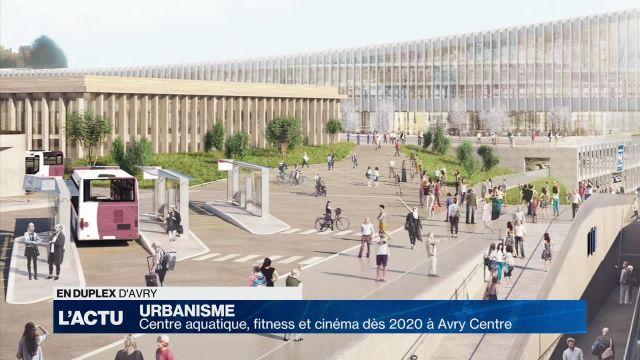 Piscine, fitness et cinéma dès 2020 à Avry Centre