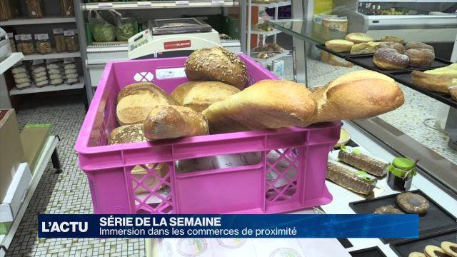 Boulangerie-épicerie du village