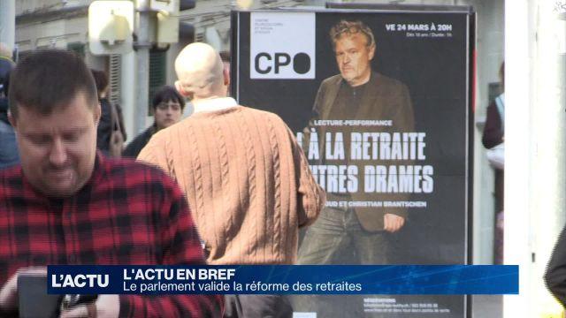 Le parlement donne son feu vert à la réforme des retraites