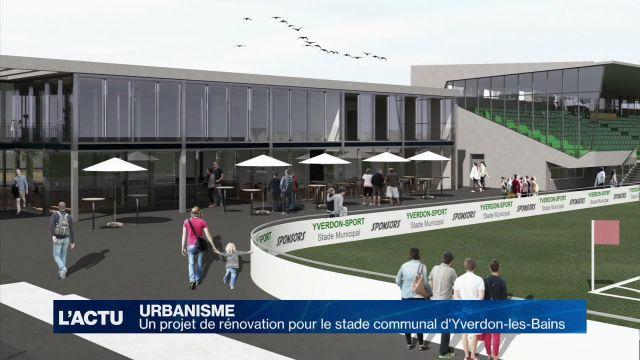 Un nouveau stade pour Yverdon-les-Bains