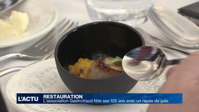 GastroVaud fête ses 125 ans avec un repas de gala