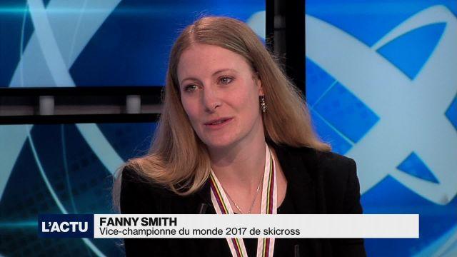 Skicross : Fanny Smith est devenue vice-championne du monde
