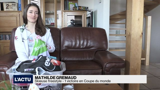 Mathilde Gremaud revient sur sa première saison dans l'élite