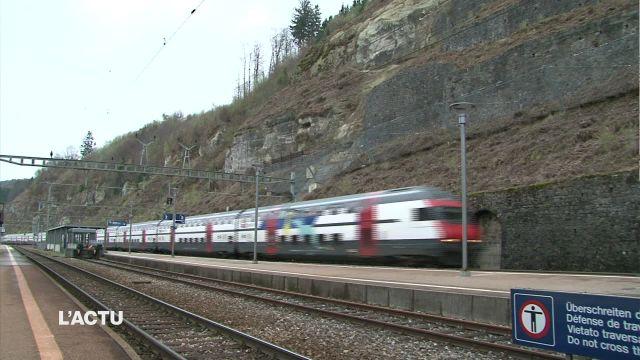 Trains supprimés entre Fribourg et Berne