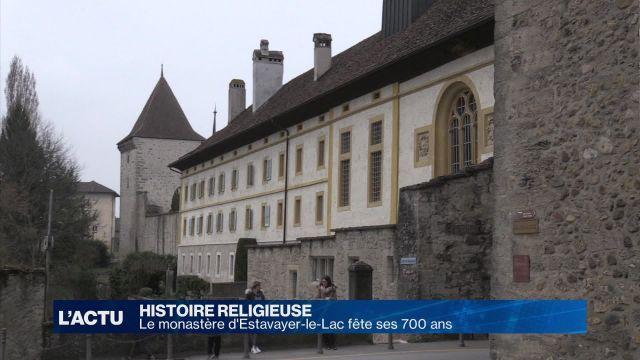Jubilé au monastère dominicain d'Estavayer-le-Lac
