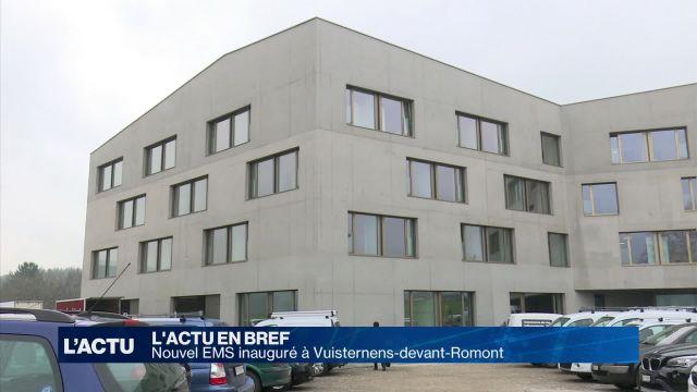 Nouvel EMS inauguré à Vuisternens-devant-Romont