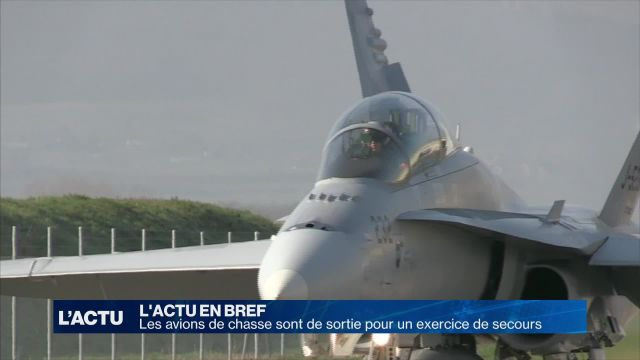 Les avions militaires sont de sortie à Payerne