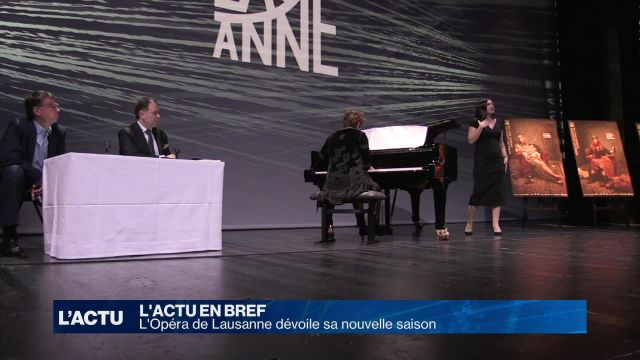 L'opéra de Lausanne lève le voile sur sa saison