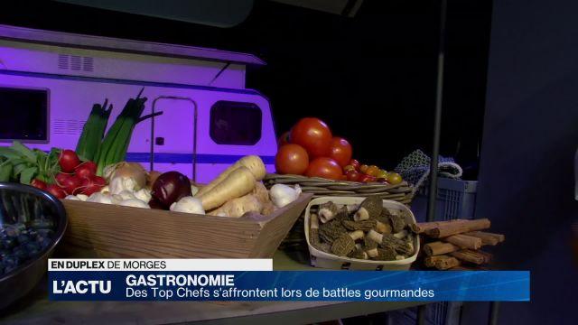 Les Top Chefs font leur show en Suisse romande