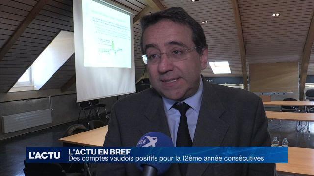 Des comptes positifs pour le Canton de Vaud