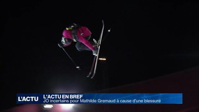 JO incertains pour Mathilde Gremaud à cause d'une blessure