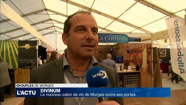 Divinum ouvre ses portes à Morges