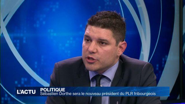 Sébastien Dorthe sera le nouveau président du PLR FR