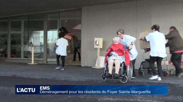 Jour de déménagement pour les résidents de Sainte-Marguerite