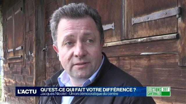 Portrait de campagne - Jacques Nicolet
