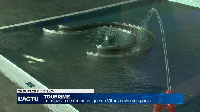 Le nouveau centre aquatique de Villars ouvre ses portes