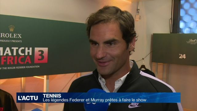 Un match exceptionnel Federer vs Murray sur La Télé