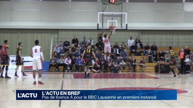 L'avenir du BBC Lausanne est incertain