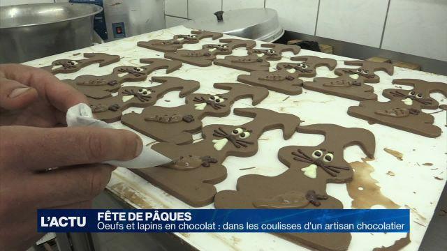 Dans les coulisses d'un artisan chocolatier