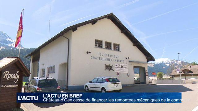 Château-d'Oex cesse de financer les remontées mécaniques