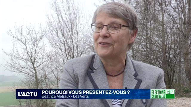 Portrait de campagne - Béatrice Métraux