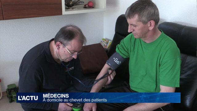 Des médecins à la maison à Fribourg