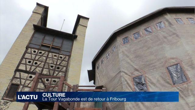 La Tour Vagabonde est de retour à Fribourg