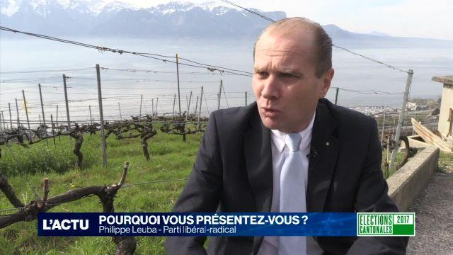 Portrait de campagne - Philippe Leuba