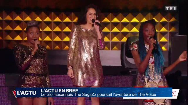The SugaZz poursuit l'aventure de The Voice