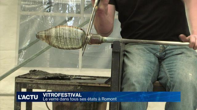 Le verre dans tous ses états au Vitrofestival