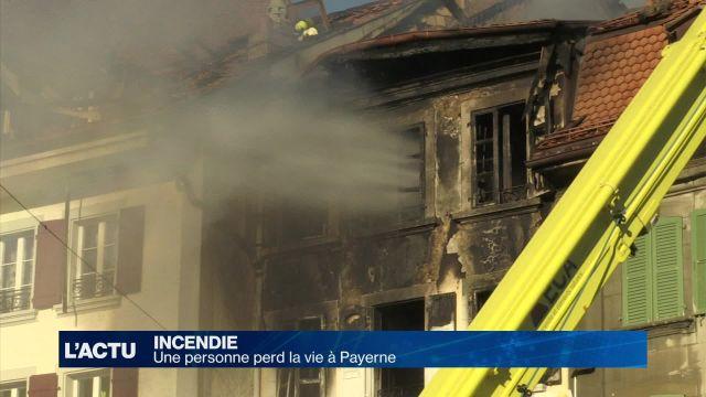 Un incendie fait un mort à Payerne