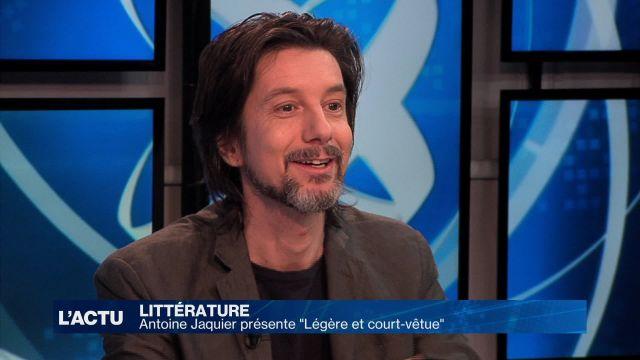 Antoine Jaquier présente son 3e roman «Légère et court-vêtu»