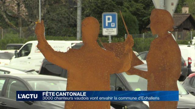 3000 chanteurs vaudois vont envahir la commune d'Échallens